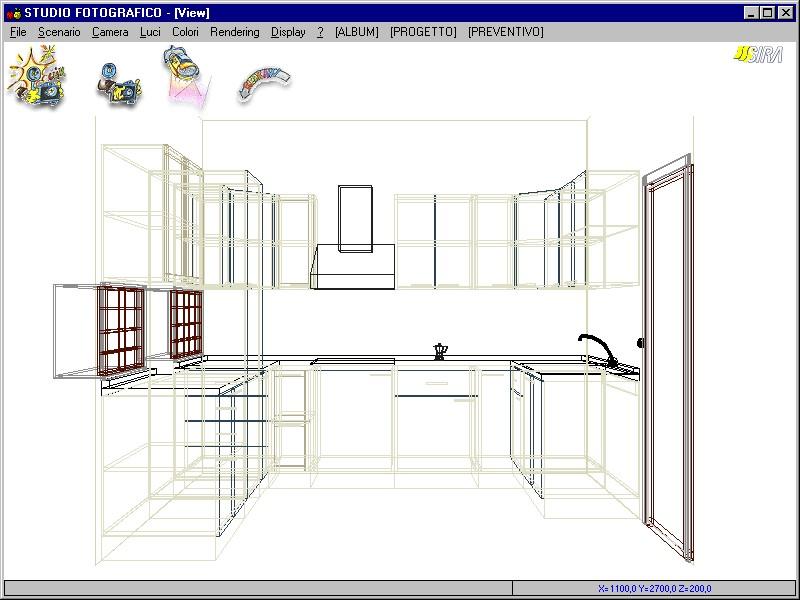 Casa moderna roma italy software progettazione cucine for Progettazione interni software