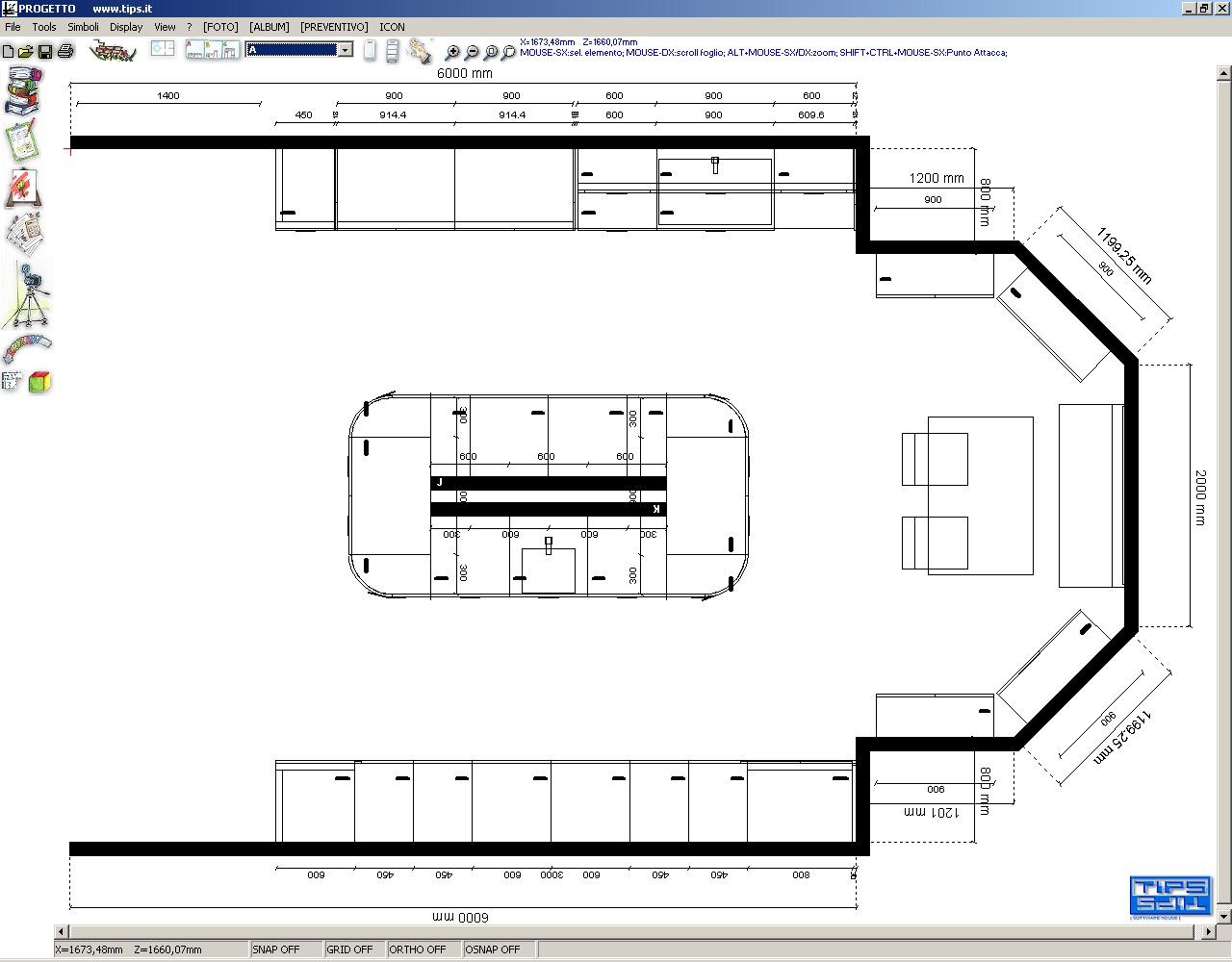 Software cucina cheap software per arredare with software for Blocchi cad arredi di interni
